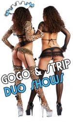 Gogo Duo Show - Strip Duo Shows buchen