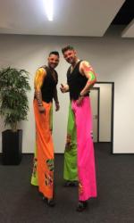 Stelzen Gogo buchen - Ilias Stelzen Tänzer