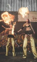 Agentur für Feuershows