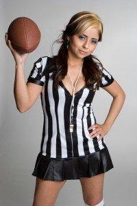 sexy football gogo girl