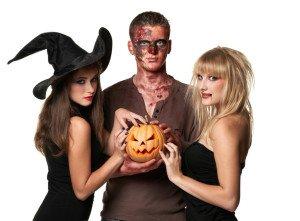 Hexen und Dämonen Gogos für Halloween - Gogo Agentur